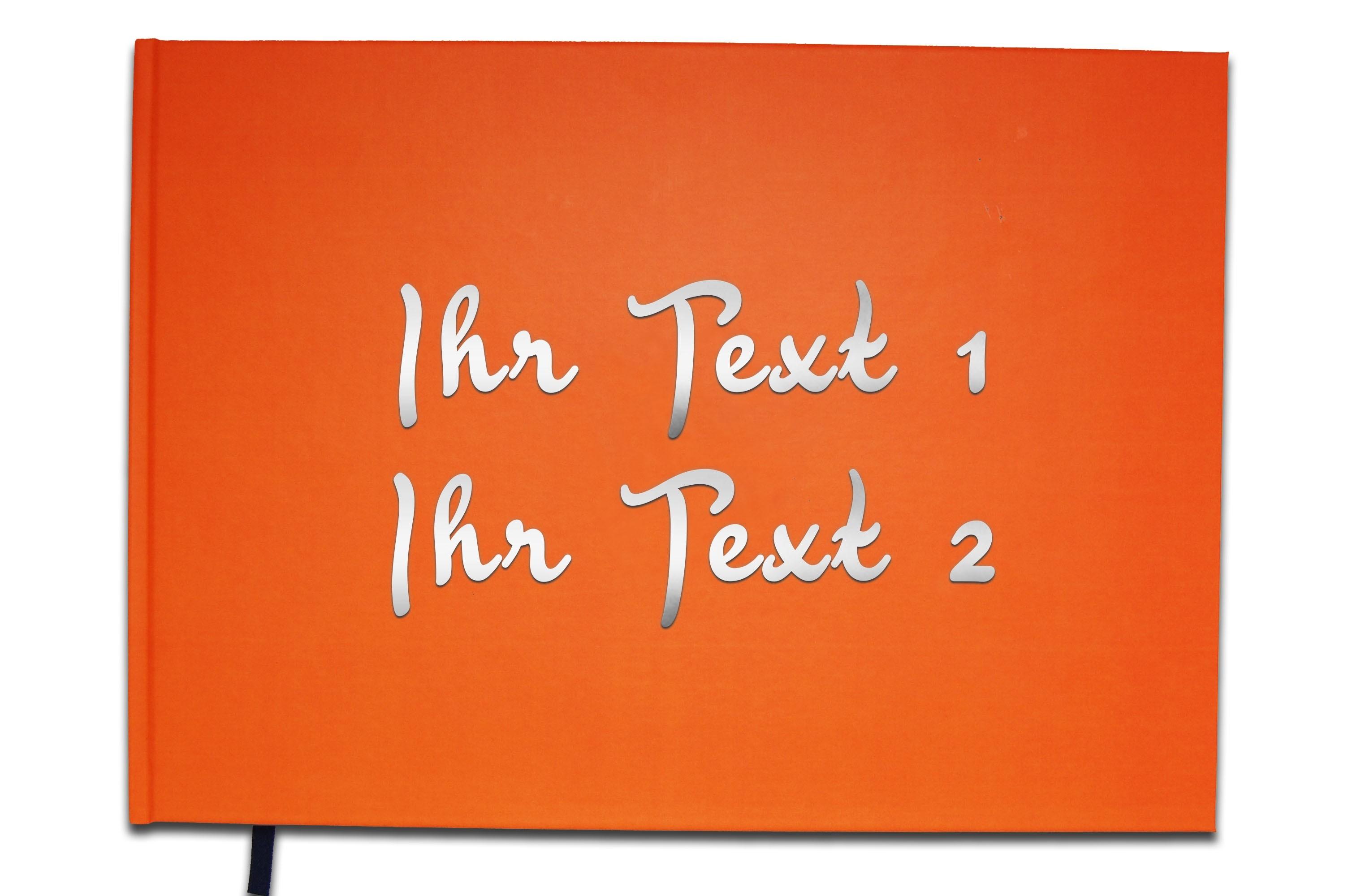 Geburtstag Gästebuch mit personalisiertem Text Souvenir